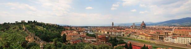 Panorama Florenz-XL Lizenzfreies Stockbild