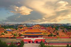 Forbidden City, Beijing , China Stock Photos