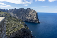 Panorama, Formentor by the Mediterranean sea on the island of Ib Stock Image