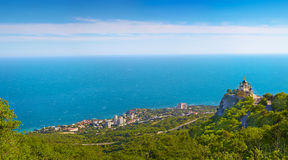 Panorama of Foros. Royalty Free Stock Photography