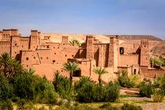 Panorama- foto av Ait Benhaddou, Marocko Fotografering för Bildbyråer