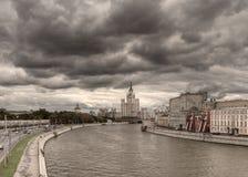 Panorama- foto av mitten av Moskva Royaltyfria Foton