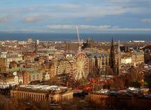 Panorama från Dundee royaltyfri bild