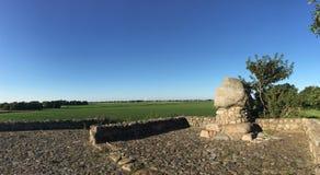 Panorama från monumentet på red Klif Royaltyfria Foton