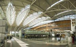 panorama för flygplats b Royaltyfri Foto