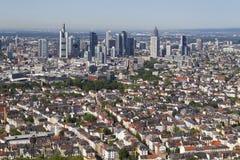 Panorama Frankfurt Fotografia Stock
