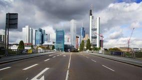 Panorama of Frankfurt am Main. Stock Image
