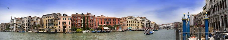 Panorama frrom Venetië stock fotografie