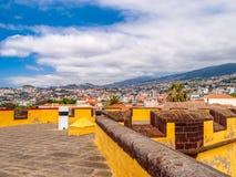 Panorama of Funchal stock photography