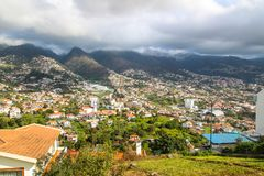 Pico dos Barcelos, Funchal, Madeira Royalty Free Stock Images
