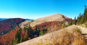 Panorama góra Parashka Obrazy Stock