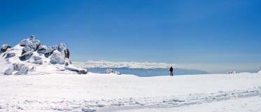 panorama górskie zboczy Zdjęcie Royalty Free