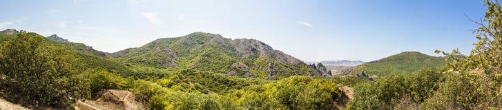 Panorama góry Zdjęcia Stock