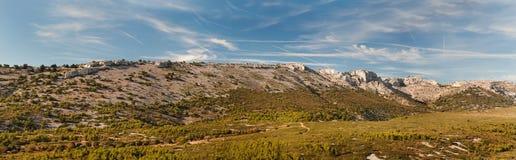 Panorama góry w Francja Fotografia Stock