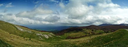 Panorama Gabrovo Foto de Stock Royalty Free