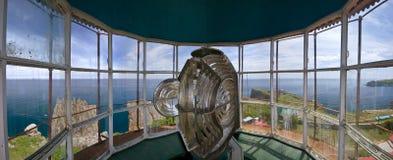 Panorama Gamow-Leuchtturm Lizenzfreie Stockbilder