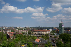 Panorama of Gdansk. Royalty Free Stock Photography