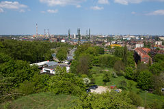 Panorama of Gdansk. Stock Photography