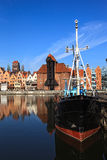Panorama of Gdansk, Poland. Stock Photos