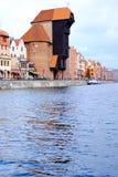 Panorama of Gdansk Stock Image