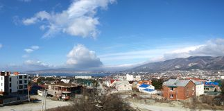 Panorama of Gelendzhik Royalty Free Stock Photos