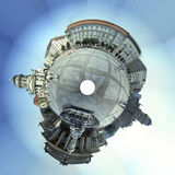 Panorama: Gendarmenmarkt Berlin Royalty Free Stock Photos