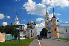Panorama general del Kremlin en Kolomna, Rusia Foto de archivo