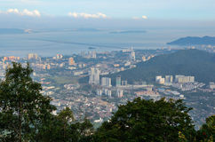 Panorama of George Town Royalty Free Stock Photo