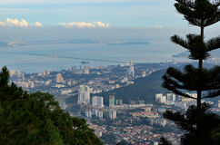 Panorama of George Town Stock Image
