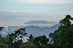Panorama of George Town Royalty Free Stock Image