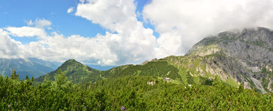 Panorama german alps Royalty Free Stock Images