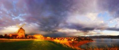 Panorama Getxo Zdjęcie Royalty Free