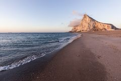 Panorama of Gibraltar Stock Images