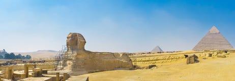 Panorama of Giza Royalty Free Stock Image