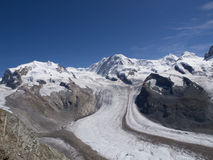 Panorama from Gornergrat Royalty Free Stock Photography