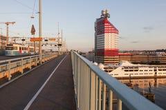 Panorama of Gothenburg. Gothenburg, Vasstergotland and Bohuslan, Sweden stock photo