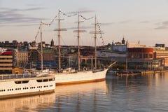 Panorama of Gothenburg. Gothenburg, Vasstergotland and Bohuslan, Sweden royalty free stock photo