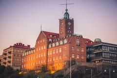 Panorama of Gothenburg. Gothenburg, Vasstergotland and Bohuslan, Sweden stock photos