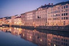 Panorama of Gothenburg. Gothenburg, Vasstergotland and Bohuslan, Sweden royalty free stock photos