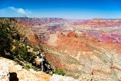 Panorama of Grand Canyon Stock Photos