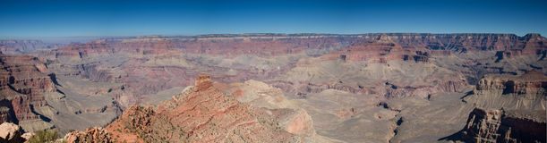 Panorama of the Grand Canyon Royalty Free Stock Image