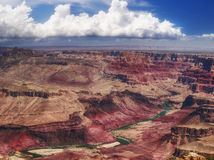 Panorama of Grand Canyon Royalty Free Stock Photos