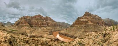 Panorama Grand Canyon de Colorado Imagen de archivo