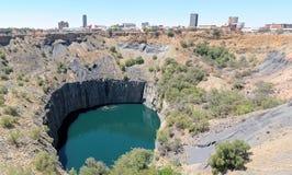 Panorama grande del agujero y de Kimberley Imagen de archivo libre de regalías