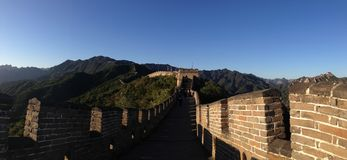 Panorama of the Great Wall Stock Images