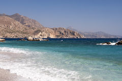 Panorama in a Greek Island Royalty Free Stock Photos