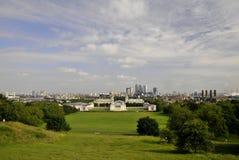 panorama greenwitch zdjęcia stock