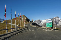 Panorama Grossglockner before sunrise, Austria Royalty Free Stock Photos
