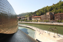 Guggenheim Museum, Bilbao in Spain Stock Images