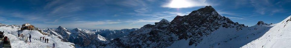 Panorama Guglielmina di inverno Fotografie Stock Libere da Diritti